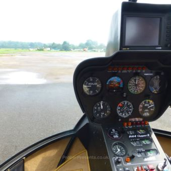 Inside the Robinson R44