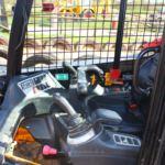 Dumper truck drivers seat