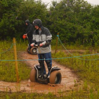 Racing a Segway