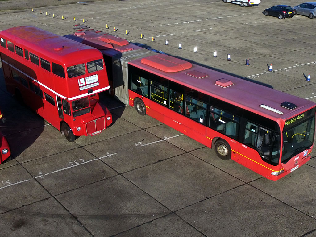 Routemaster and Bendy Bus
