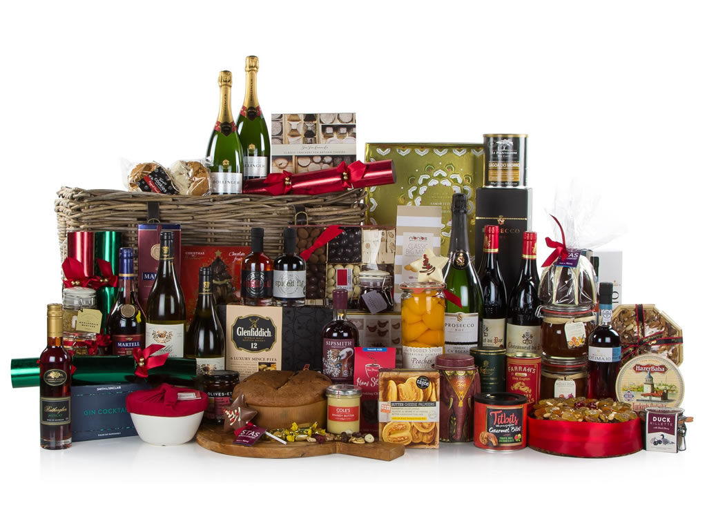John Lewis' Christmas Treasure Chest Hamper